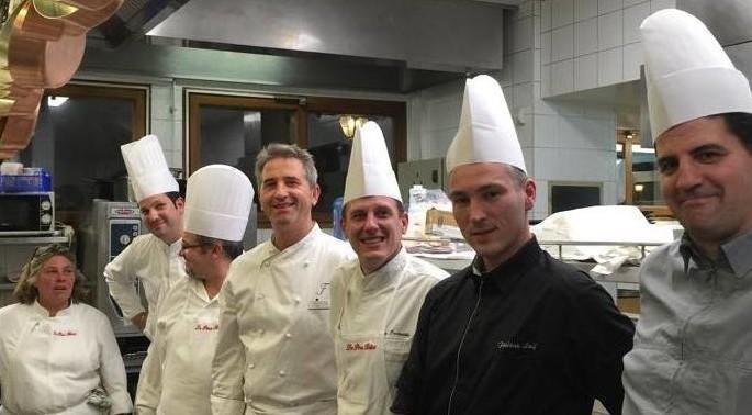 Eric Prowalski chef a la Rotonde des Tresoms et les chefs d Annecy