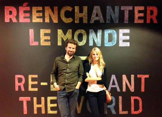 Demain le film avec Mélanie Laurent et Cyril Dion avec la participation de l'hôtel Les Trésoms