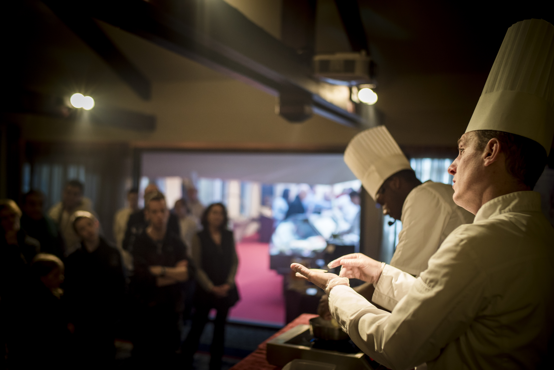 Démonstration culinaires - Eric Prowalski Chef des cuisines - les Trésoms