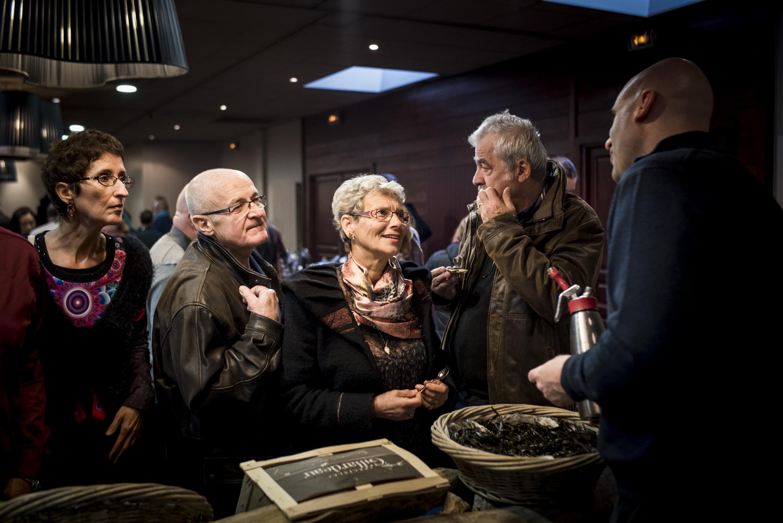 Rencontres producteurs clients - Marché des Trésoms Annecy - Hôtel de charme Les Trésoms