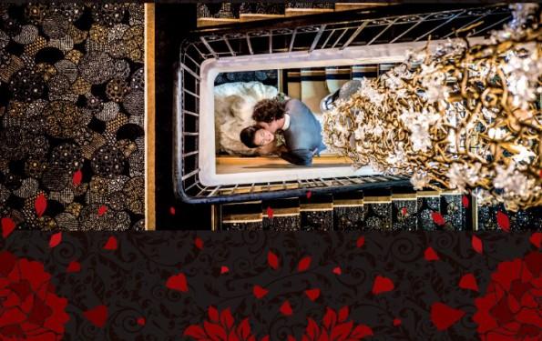 Les Trésoms, hôtel de charme à Annecy, couple s'enlassant Saint Valentin