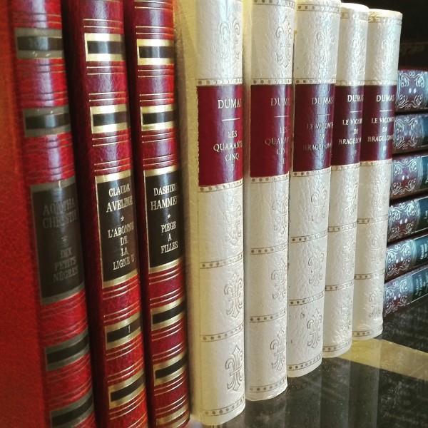 Bibliothèque de l'hôtel Les Trésoms à Annecy