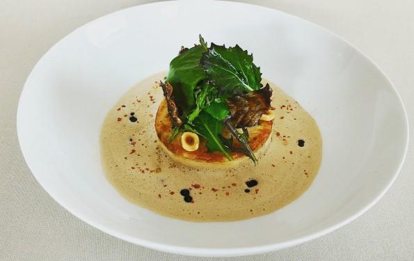 Restaurant gastronomique la rotonde des tresoms - brochet du lac d'Annecy mousseline de brochet façon Taillevent