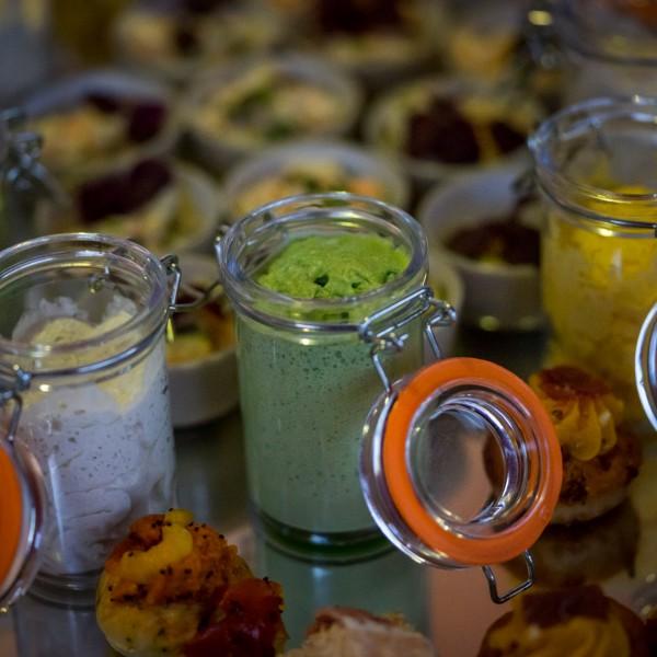 Cours de cuisine Tapas & Verrines à la Rotonde des Trésoms avec le chef Eric Prowalski