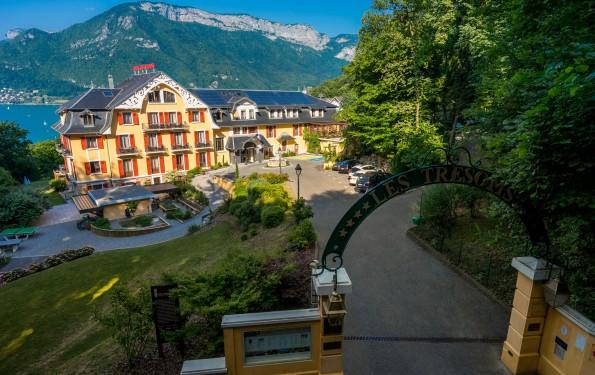 Vacances au vert à Annecy - Hôtel Restaurant Spa Les Trésoms
