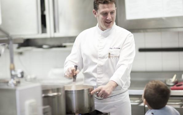 Cours de cuisine - Restaurant La Rotonde des Trésoms Annecy