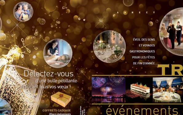 Menus de Fêtes - Hôtel Restaurant gastronomique Les Trésoms - Annecy