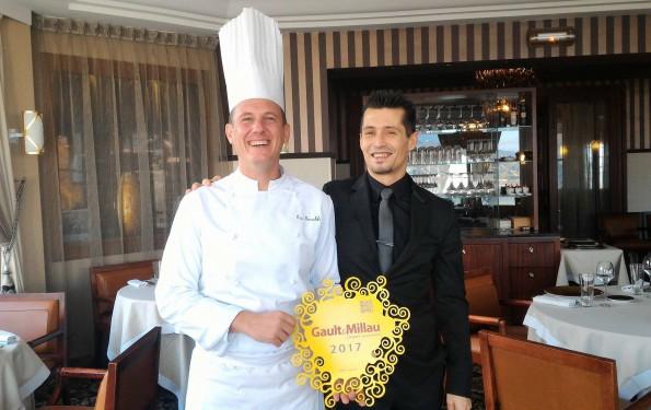 plaque Gault& Millau 2017 - Restaurant La Rotonde des Trésoms Annecy