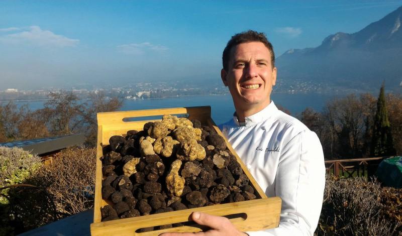Diamant Noir - Restaurant Gastronomique La Rotonde des Trésoms Annecy
