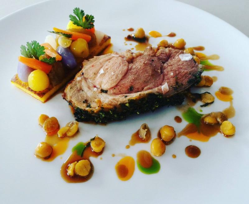 L'Agneau de Pauillac - Menu Affaire - Restaurant gastronomique La Rotonde des Trésoms Annecy