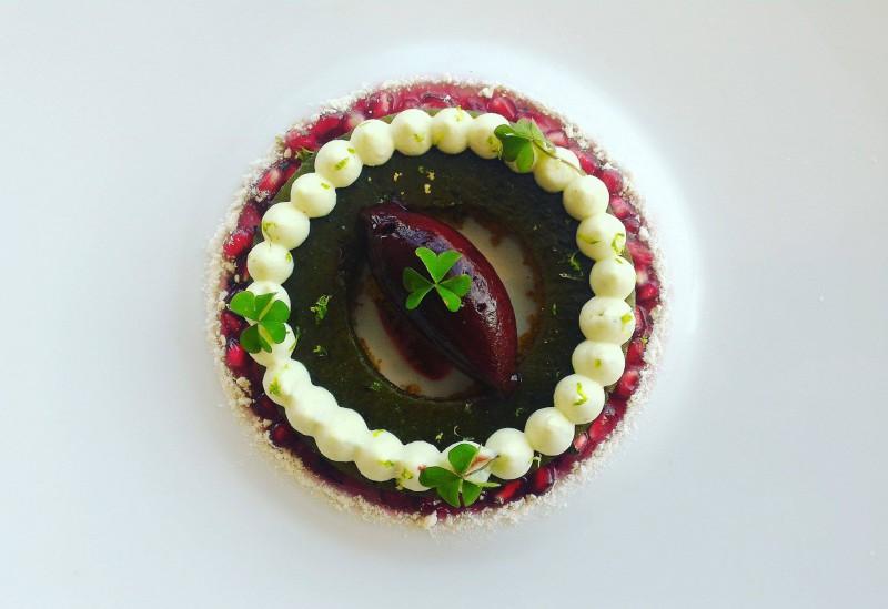 Les Fruits Exotiques - Menu Club - Restaurant Gastronomique Les Trésoms Annecy