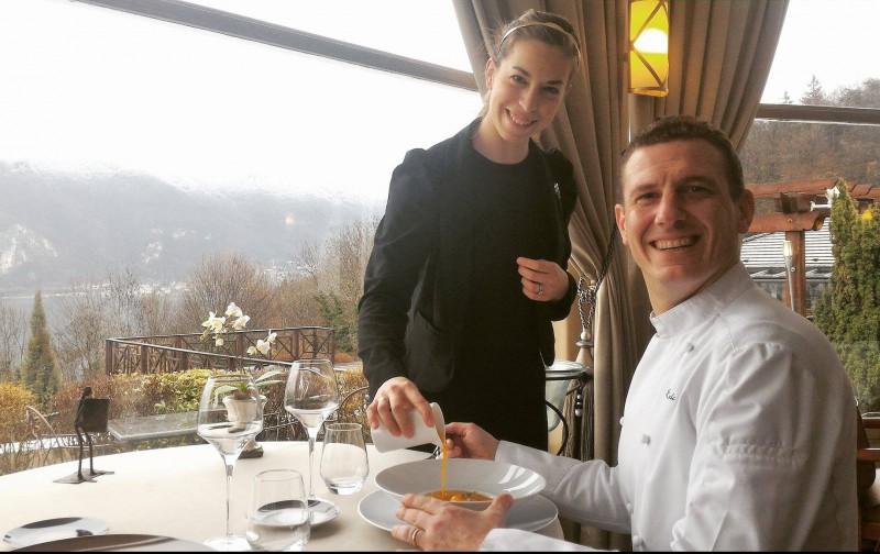 Délice de Savoie - La Courge - Restaurant La Rotonde des Trésoms Annecy