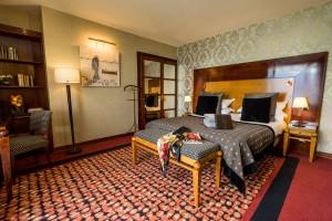 Chambre Prestige - Décoration d'intérieur Art Déco - Hôtel Les Trésoms lac Annecy
