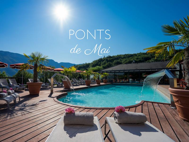 Ponts de Mai - Hotel Piscine Spa Annecy - Les Trésoms