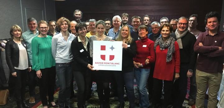 Les Ambassadeurs de Savoie Mont Blanc font briller le territoire