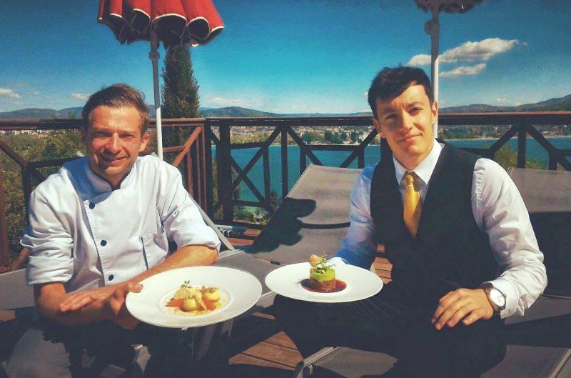 Paleron de Boeuf - Menu Club Restaurant gastronomique - La Rotonde des Trésoms Annecy