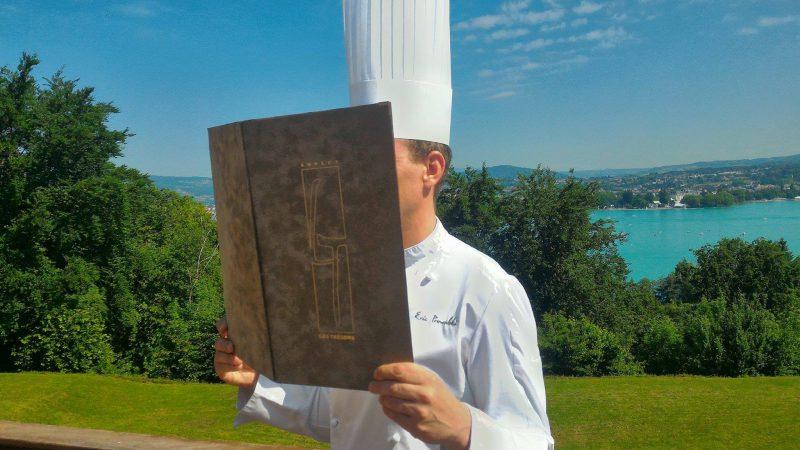 Le Chef Eric Prowalski vous propose un menu club différent chaque semaine - Restaurant La Rotonde des Trésoms