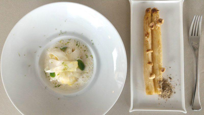 Les Asperges - Restaurant gastronomique La Rotonde des Trésoms Annecy