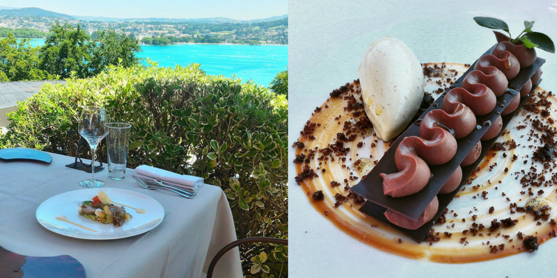 Cuisine gourmande et savoureuse dans le Menu Club - Restaurant Gastronomique La Rotonde des Trésoms Annecy