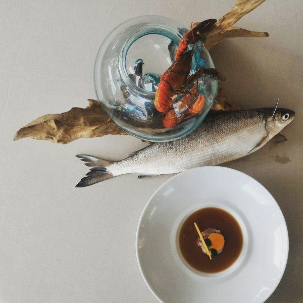 Féra du lac d'Annecy - Restaurant gastronomique - La Rotonde des Trésoms