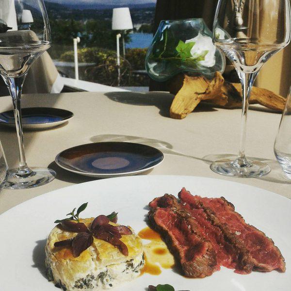 Menu Club - La blette et le boeuf - La Rotonde des Trésoms Annecy