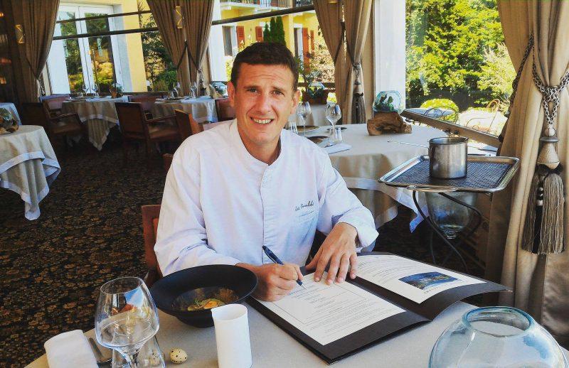Eric Prowlaski fait sa rentrée - Menu Club Cèpe - Restaurant La Rotonde des Trésoms Annecy
