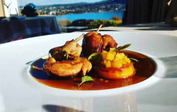 La Caille - Menu Club Affaire - Restaurant Gastronomique La Rotonde des Trésoms Annecy
