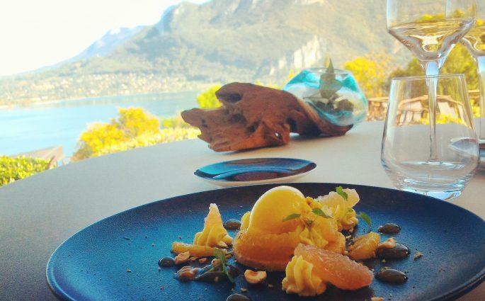 Dessert - Menu Club - Restaurant gastronomique La Rotonde des Trésoms - Annecy