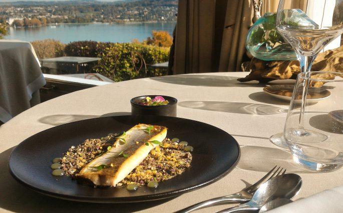 Féra du Lac d'Annecy - Restaurant Gastronomique La Rotonde des Trésoms Annecy