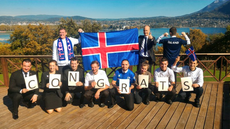 Qualification Islande - Coupe du Monde 2018 - Hôtel Les Trésoms Annecy