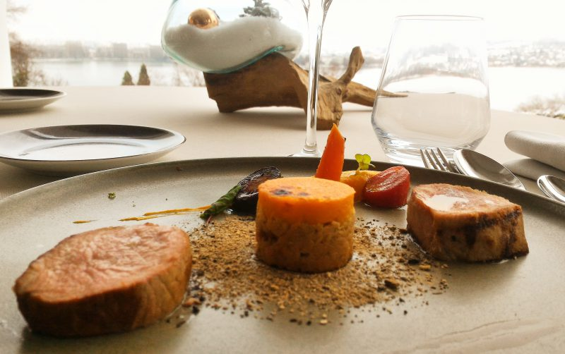 Trilogie de Veau - Menu Club - La Rotonde des Trésoms Annecy