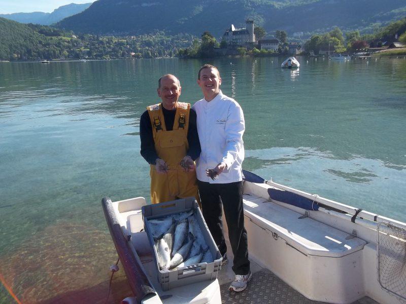 Féra du lac d'Annecy - Bernard Curt et Eric Prowalski - Menu Club - La Rotonde des Trésoms
