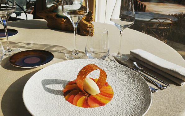Les agrumes - Menu Club - Restaurant Gastronomique La Rotonde des Trésoms Annecy