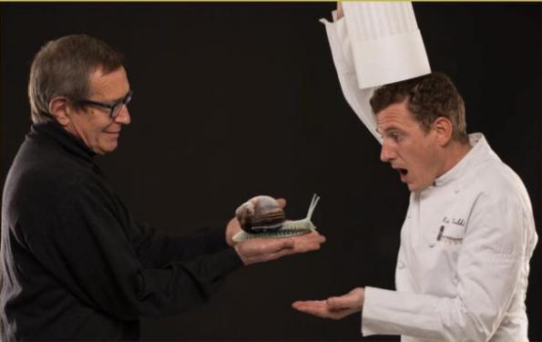 Escargots de la Source - Francis Aubry et Eric Prowalski régalent vos papilles dans le Menu Club - La Rotonde des Trésoms Annecy