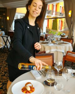 Jennifer, sommelière Restaurant Gastronomique La Rotonde des Trésoms Annecy