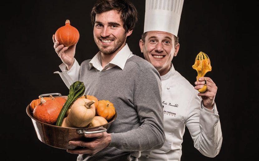 Jean-Robert Martel et Eric Prowalski - Menu Club - Restaurant La Rotonde des Trésoms - Annecy