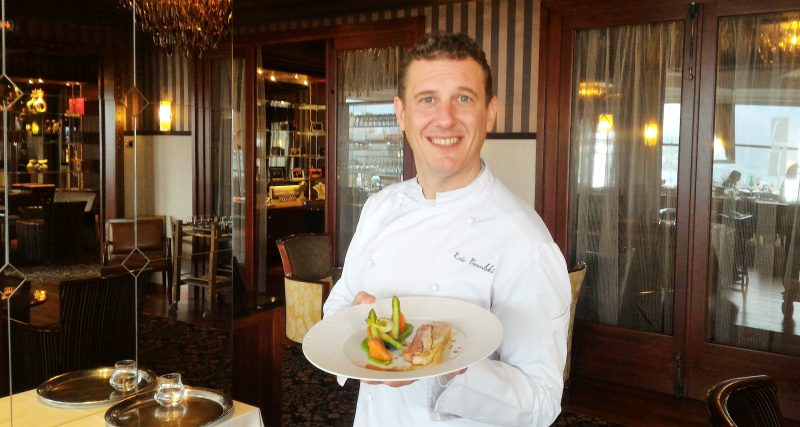 Le bonheur est dans l'assiette - Menu Club - Restaurant La Rotonde des Trésoms Annecy