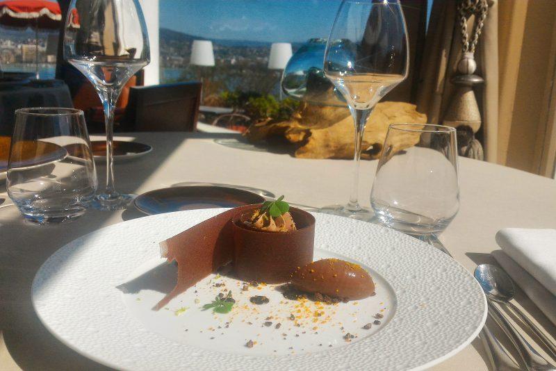 100 % Gourmandise dans le Menu Club - Restaurant Gastronomique La Rotonde des Trésoms