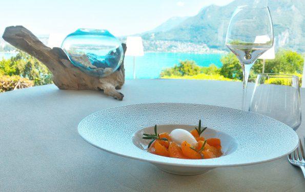 L'abricot - Menu Club - Restaurant La Rotonde des Trésoms Annecy
