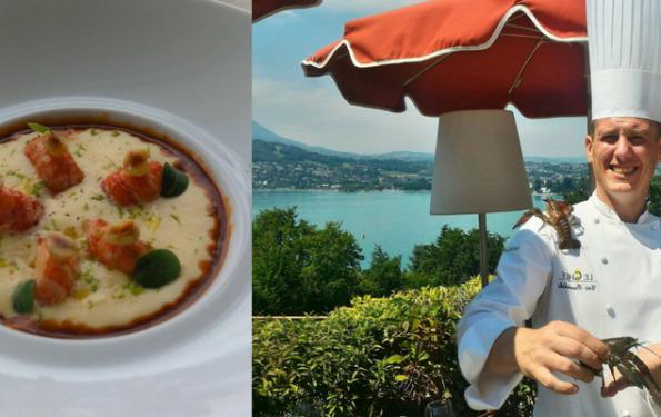 Les écrevisses du lac d'Annecy dans le menu club-restaurant la Rotonde des Trésoms