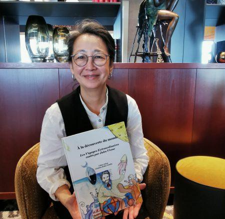 PORTRAIT – Cristina Keiko Tomita, commis petit-déjeuner et illustratrice